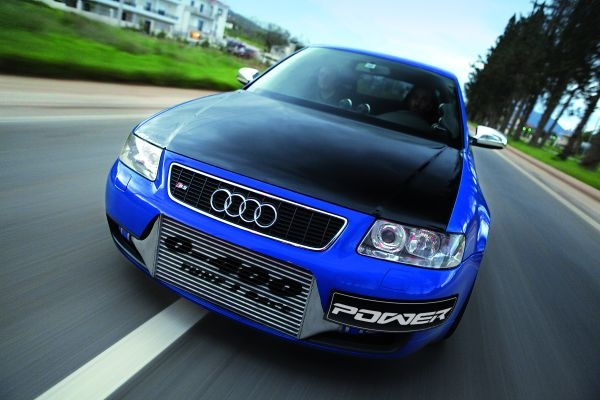 2004 Audi S3 3.2 Turbo 0-400 TUNE 2 RACE