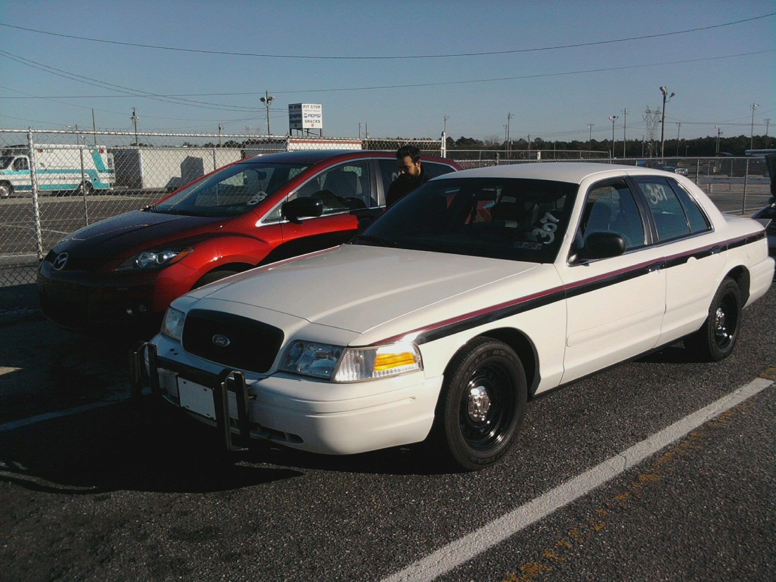2001 ford crown victoria p71 police interceptor