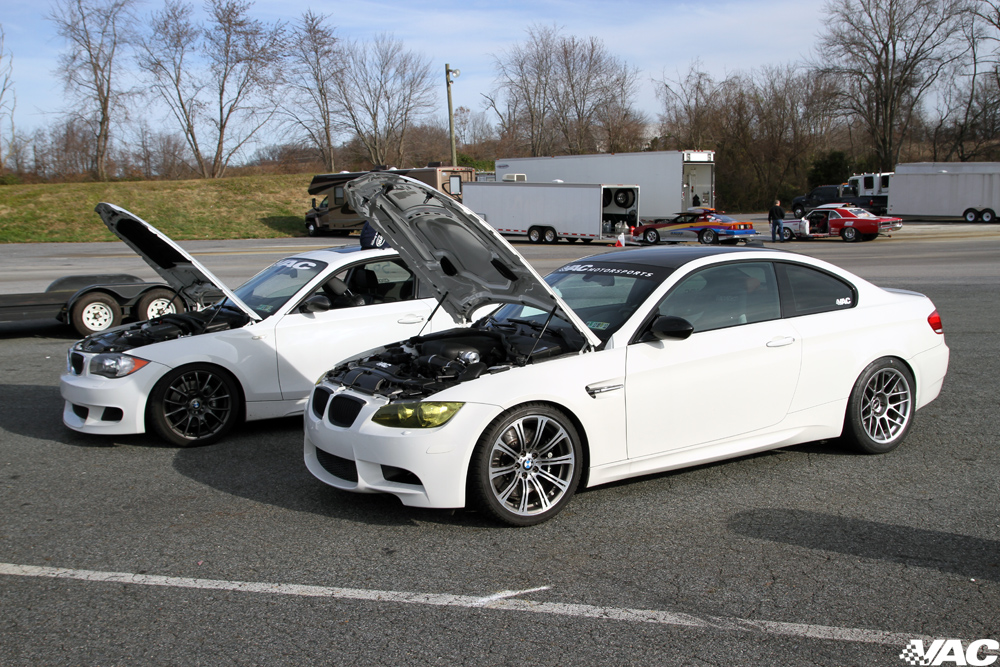 Alpine White 2008 BMW M3 E92 VF Engineering VF620