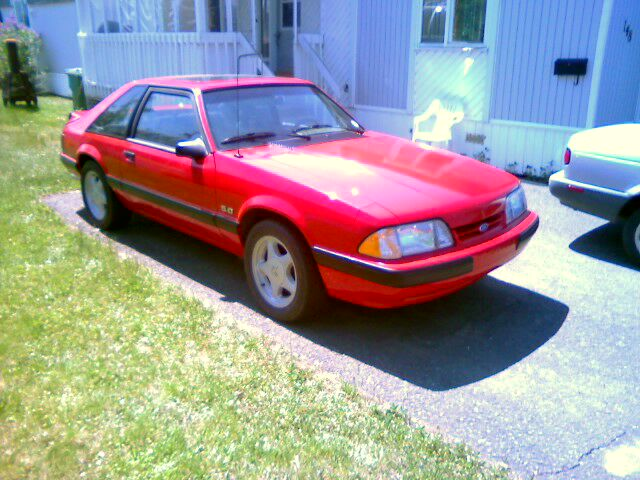 1990 Ford Mustang LX 5.0 hatchback