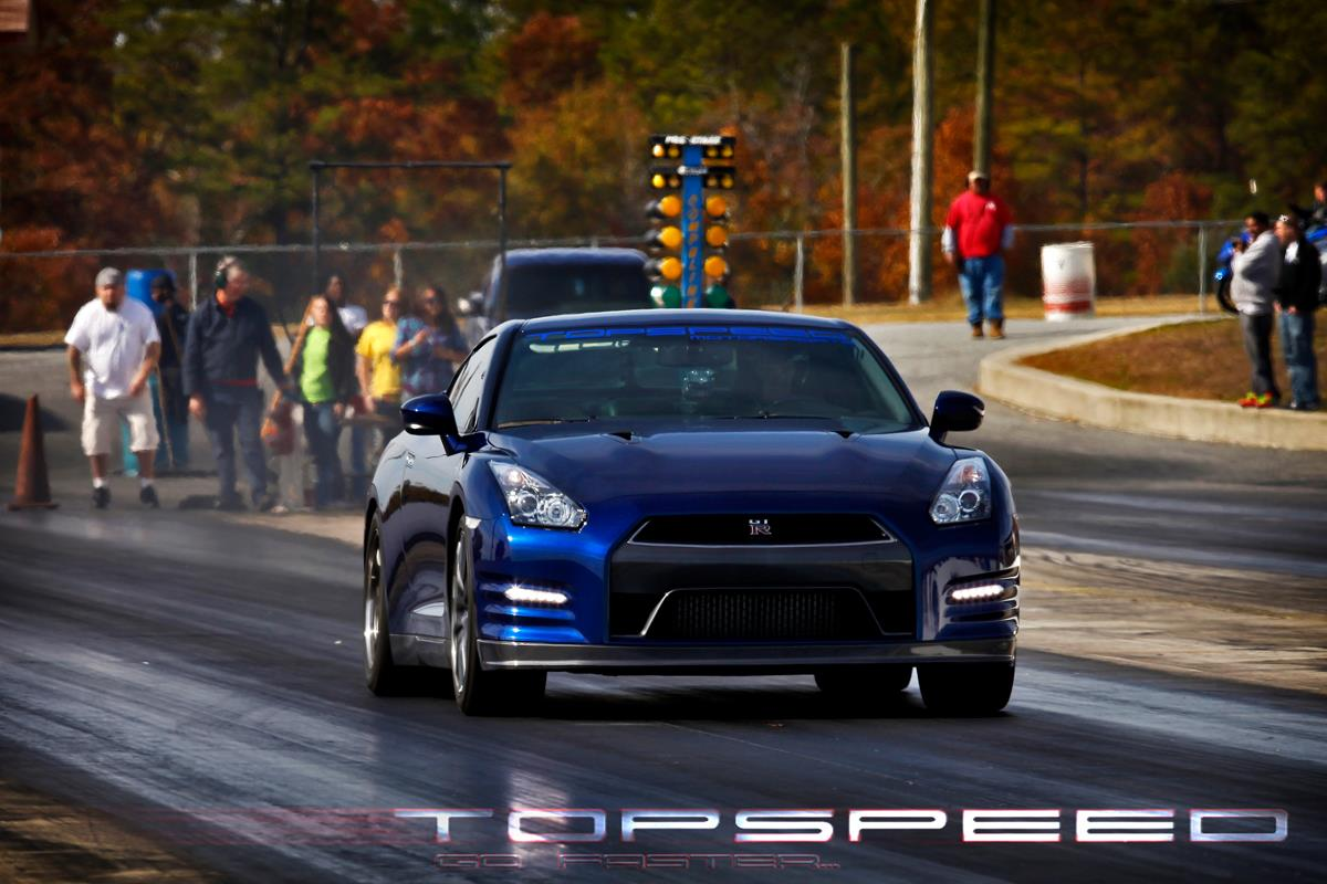 2012 Blue Nissan GT-R Alpha 10  picture, mods, upgrades