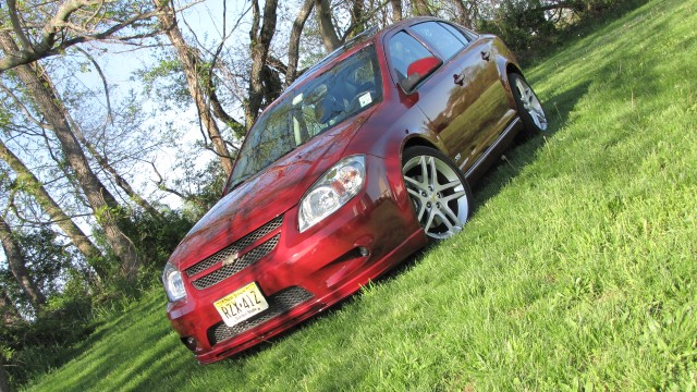 Sport Red Tint Coat 2009 Chevrolet Cobalt SS