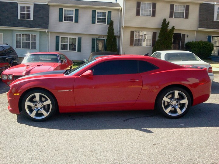 Stock 2010 Chevrolet Camaro Ss A6 14 Mile Drag Racing Timeslip