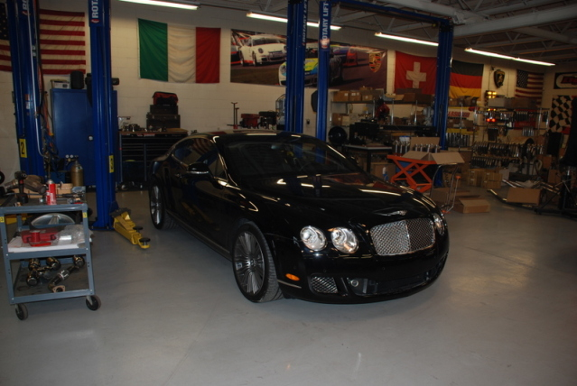 2010 Bentley Continental GT Speed