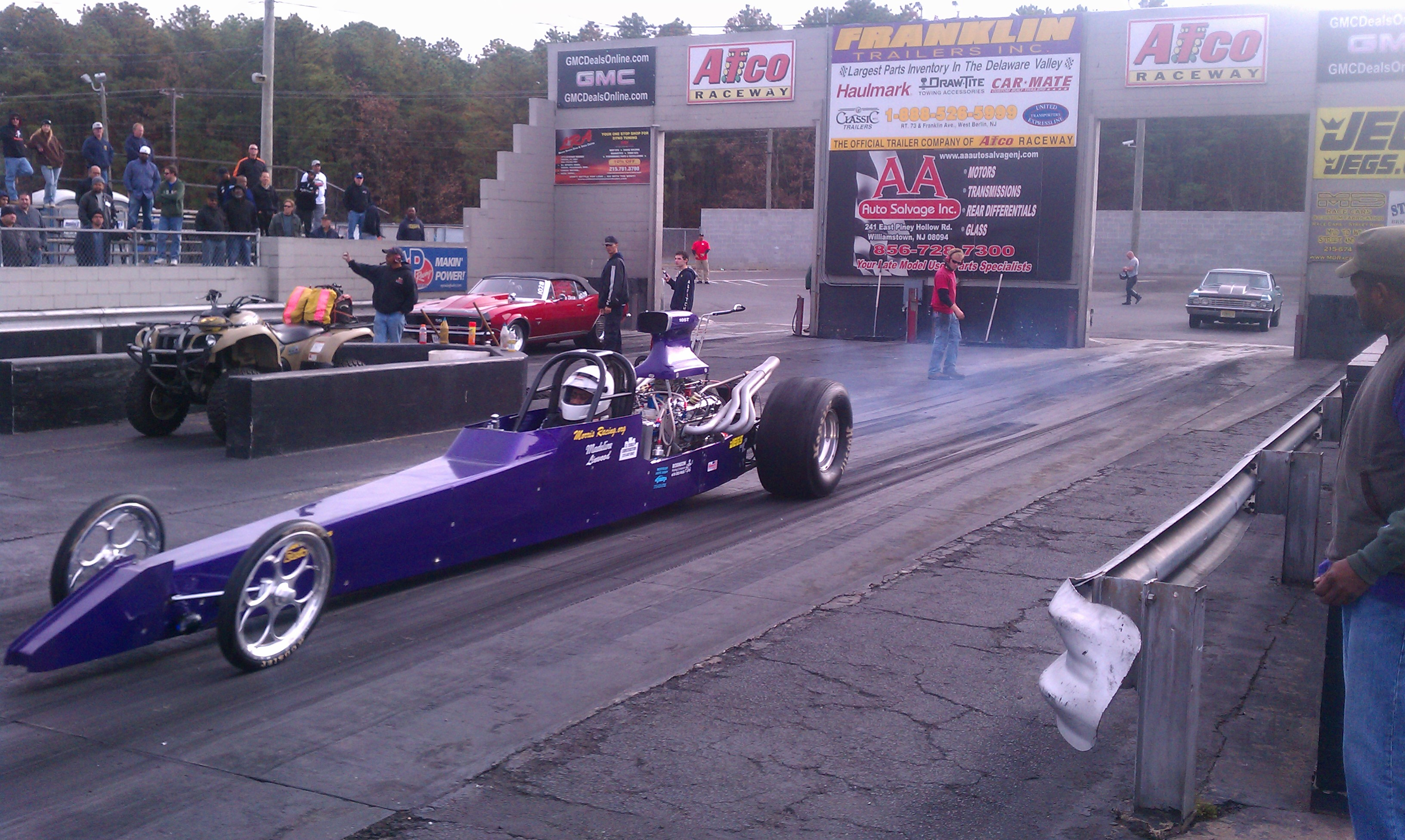 1990  Dragster Rear Engine s/w chassis picture, mods, upgrades