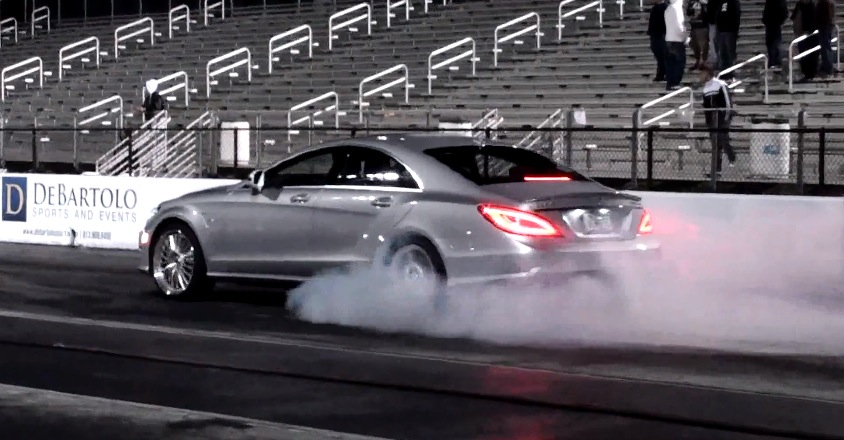 2012 Mercedes-Benz CLS63 AMG RENNtech Exhaust and Tune