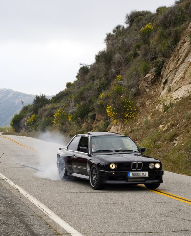 Black 1989 BMW 325i GT3282r Turbo