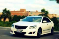 2009 white Toyota Aurion grande picture, mods, upgrades