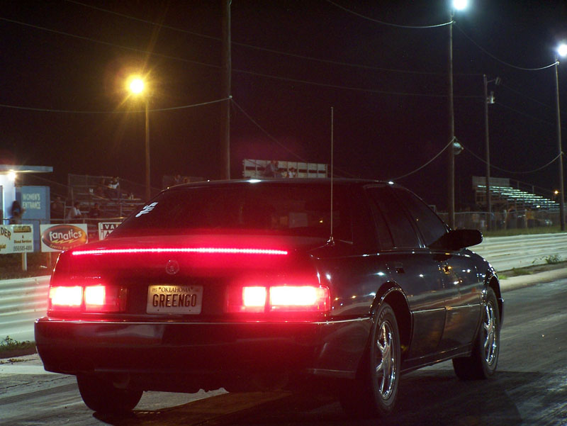 Green 1997 Cadillac Seville STS