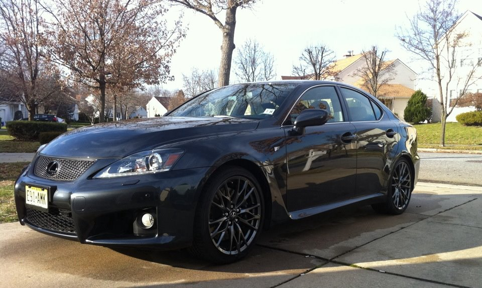 Smokey Granite Mica 2011 Lexus IS-F