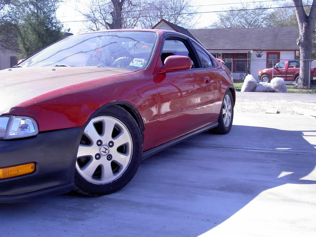 Red 1992 Honda Prelude Si