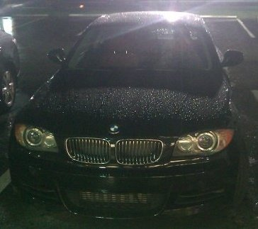 Black 2010 BMW 135i Coupe