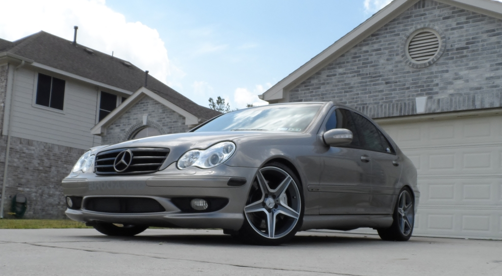 Pewter Metallic 2004 Mercedes-Benz C32 AMG