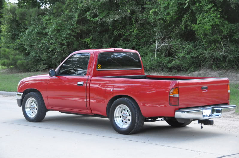 1996 Red Toyota Tacoma STD Cab picture, mods, upgrades