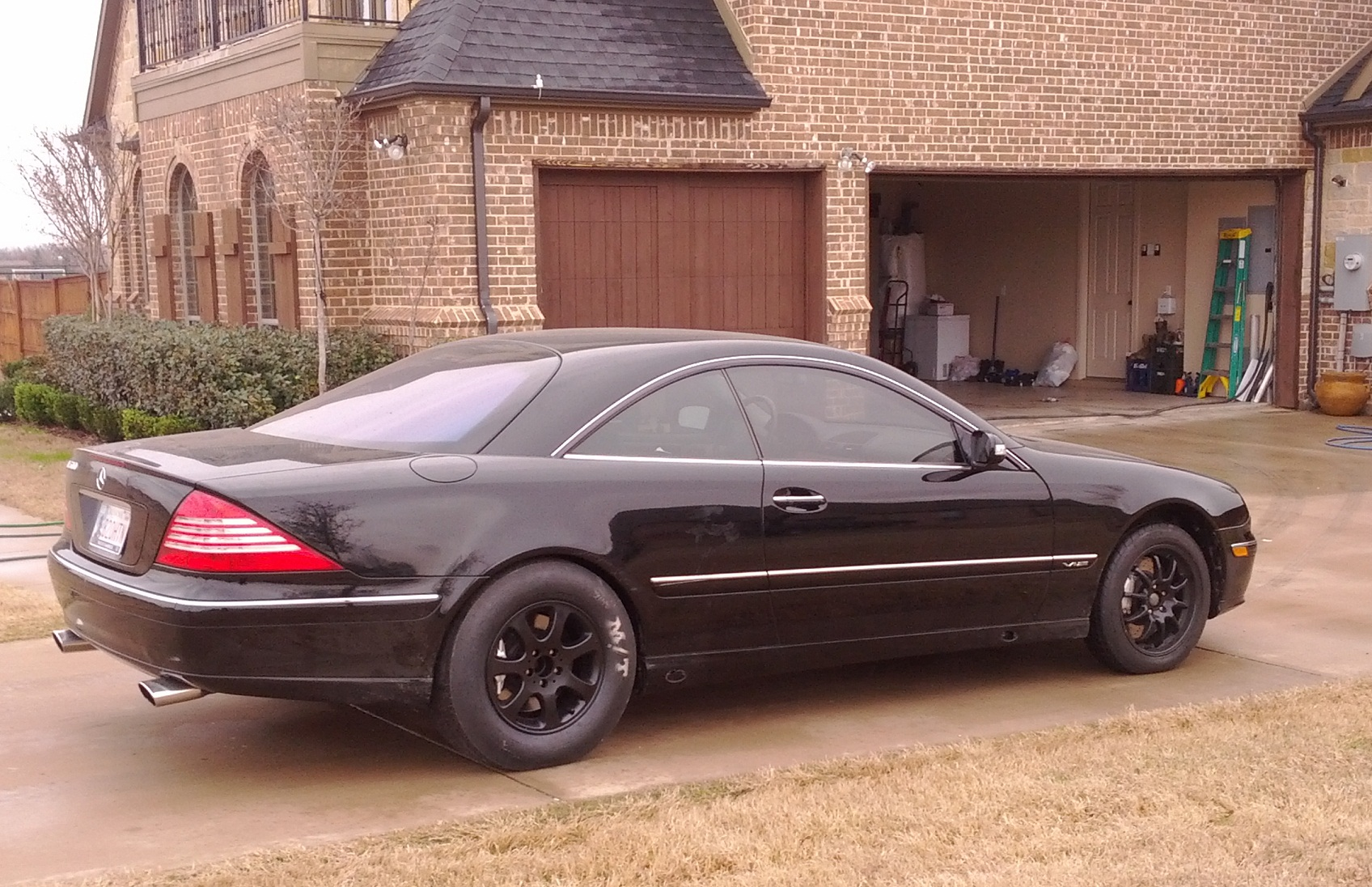 Black 2005 Mercedes-Benz CL600