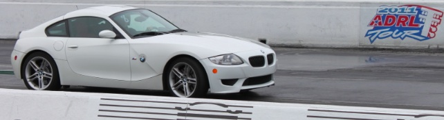 White 2007 BMW M Coupe