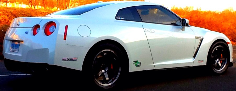 2010 WHITE Nissan GT-R The Shop Ct HKS GT800 picture, mods, upgrades