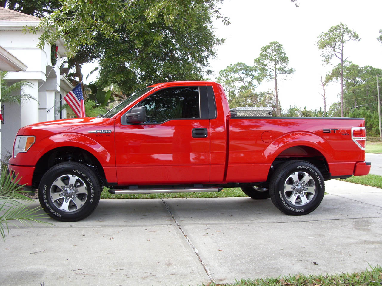 Race Red 2011 Ford F150 STX 4X4 5-star tune