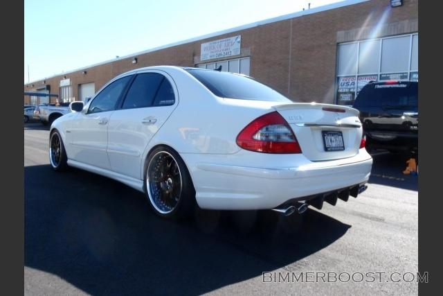 2008 white mercedes benz e63 amg pictures mods upgrades. Black Bedroom Furniture Sets. Home Design Ideas