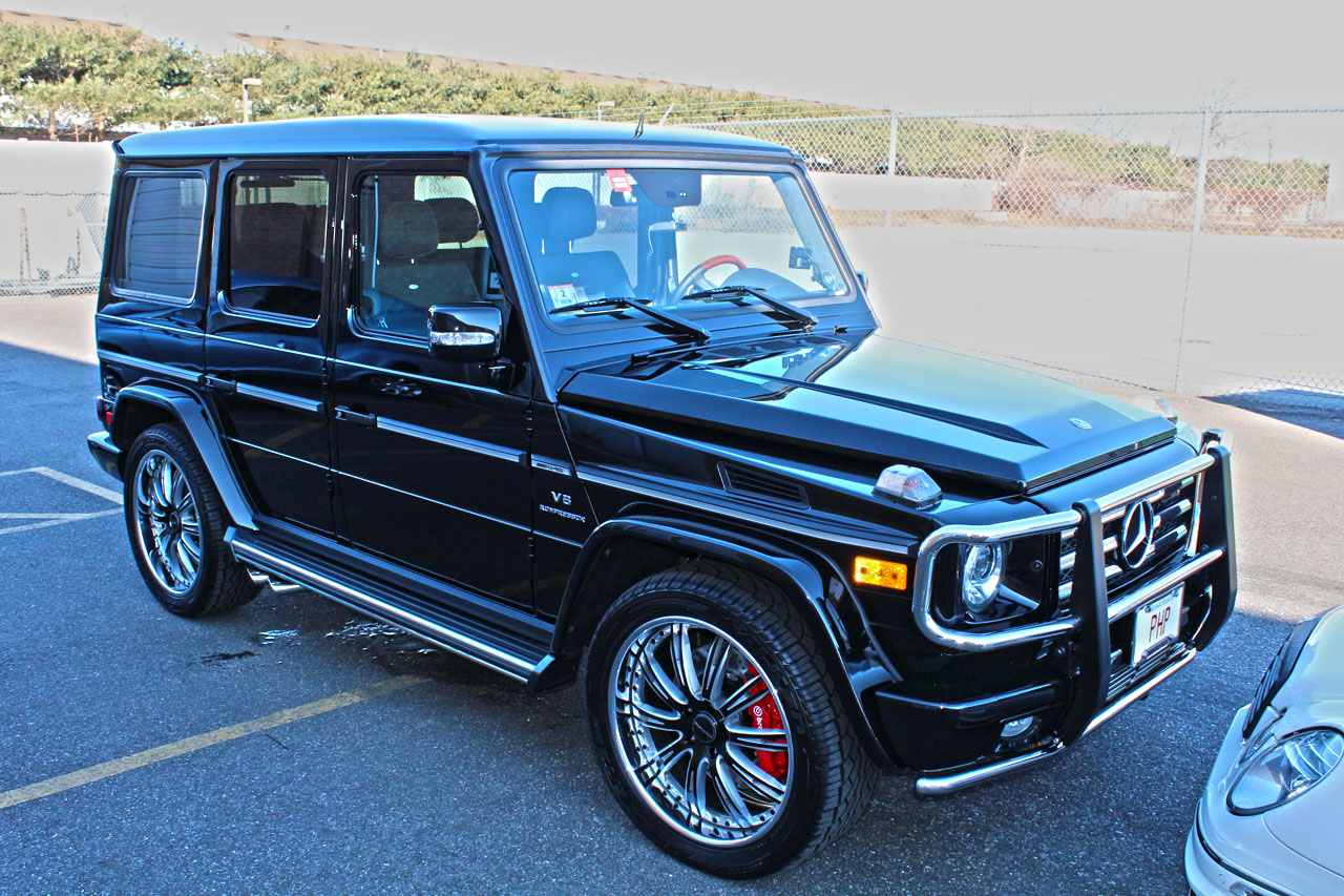 2011 Black Mercedes-Benz G55 AMG AMG picture, mods, upgrades
