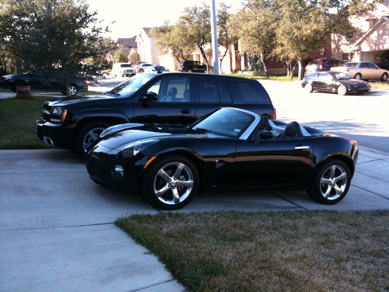 2007 Black Pontiac Solstice GXP picture, mods, upgrades