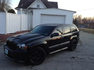 2007 Black Jeep Cherokee SRT8 Kenne Bell 2.8 Liquid Cooled picture, mods, upgrades