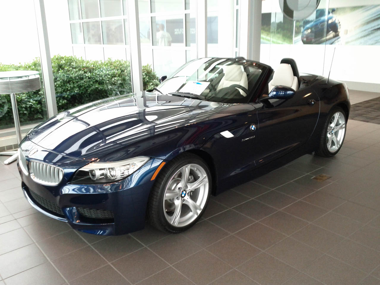 2011 Deep Sea Blue Metallic BMW Z4 Sdrive 35i picture, mods, upgrades