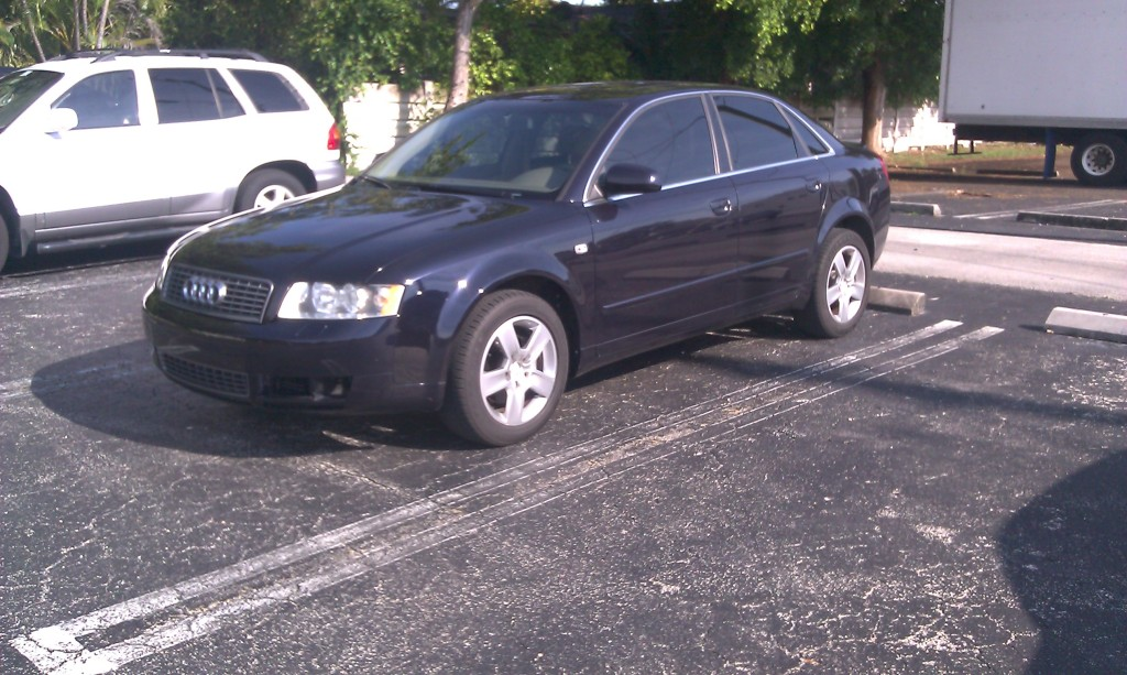 Ming Blue 2002 Audi A4 3.0-6mt-Converted to FWD