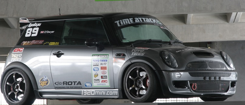 2002 Dark Silver Mini Cooper S picture, mods, upgrades