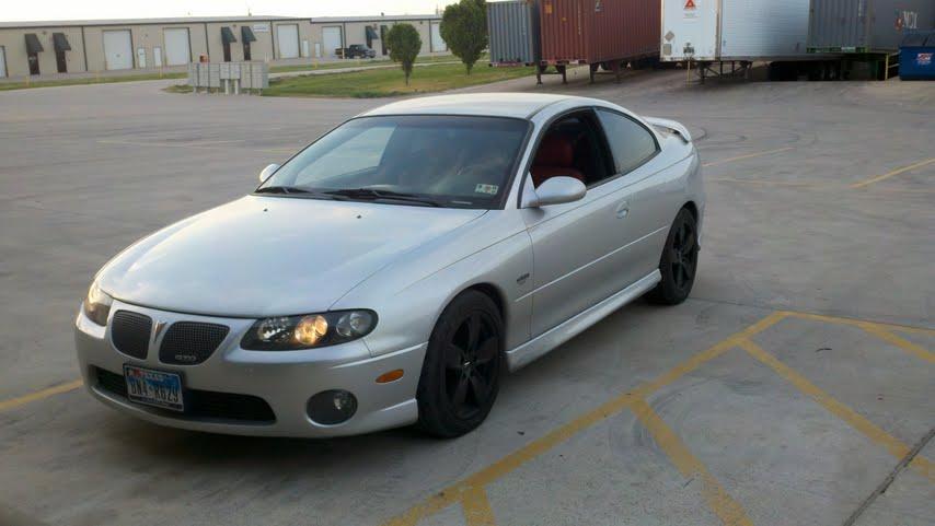 Silver 2004 Pontiac Gto