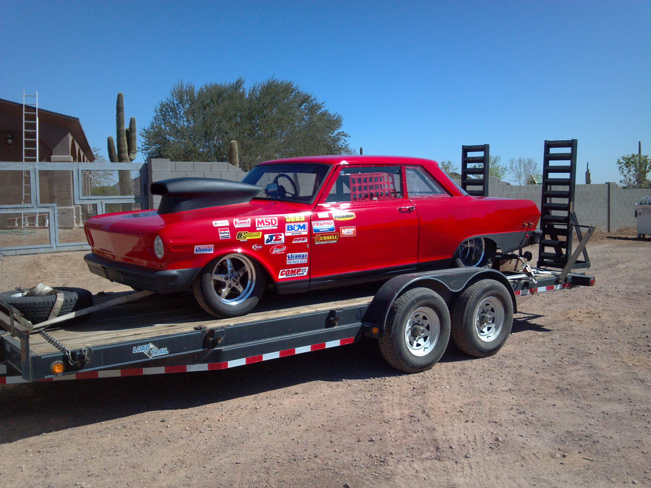 1964 Red Chevrolet Nova 2 picture, mods, upgrades