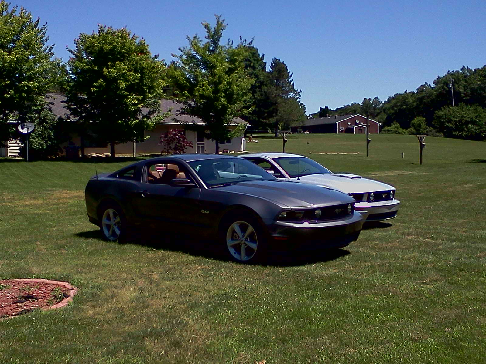 2011 sterling gray Ford Mustang GT picture, mods, upgrades