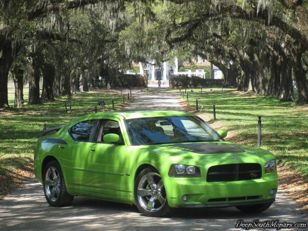 SUB LIME 2007 Dodge Charger Daytona R/T