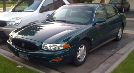 Green 2000 Buick Le Sabre Limited