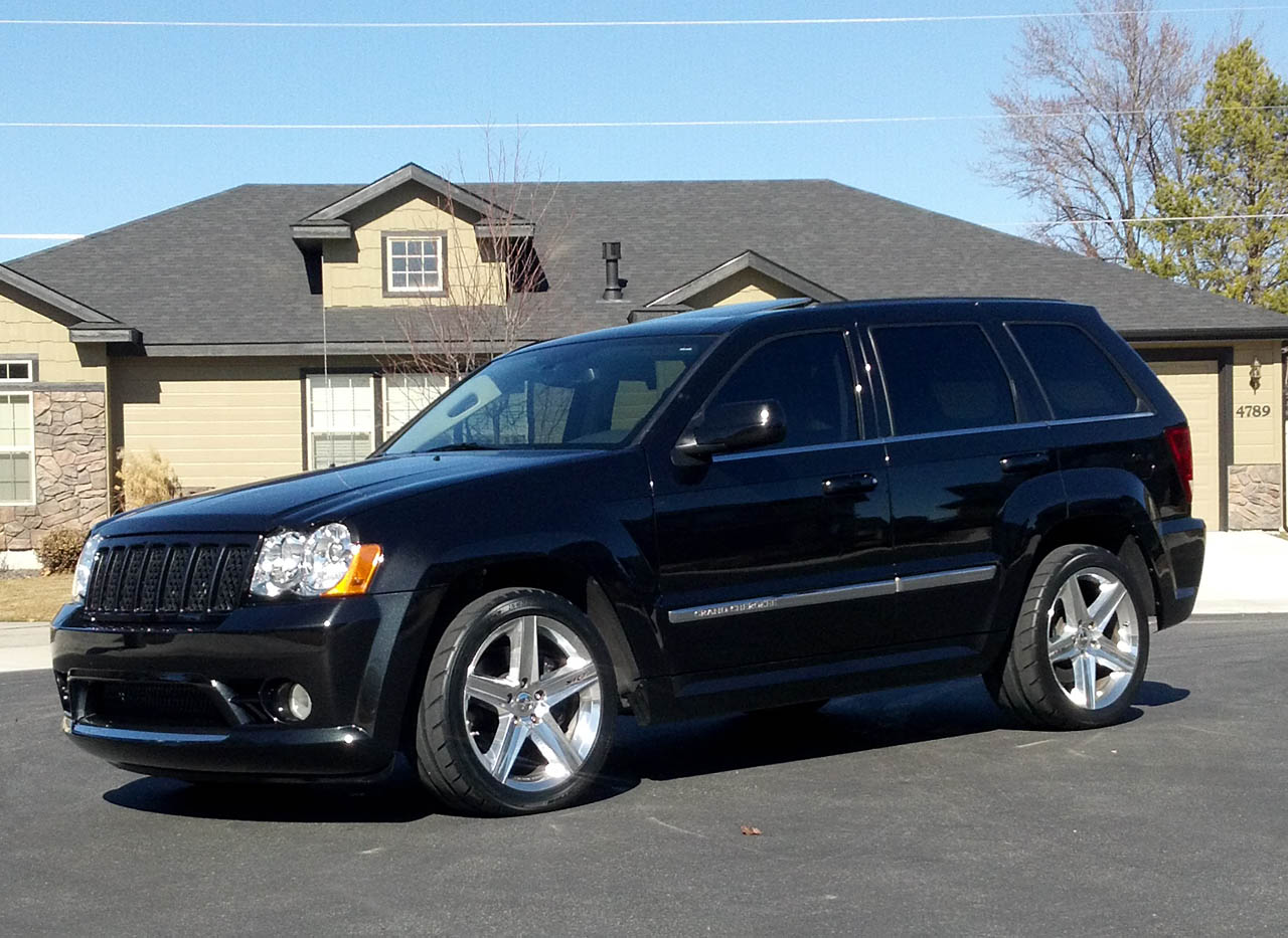 2008 jeep cherokee srt8 srt8 magnuson tvs2300 1/4 mile trap speeds
