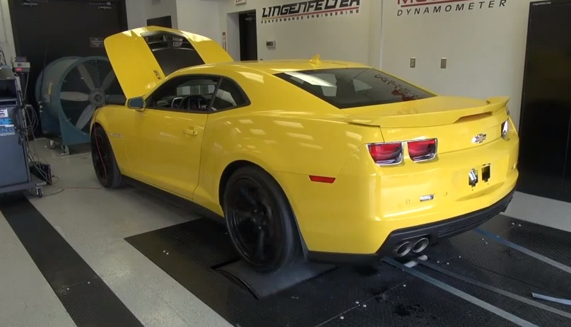 2012 Yellow Chevrolet Camaro ZL1 picture, mods, upgrades