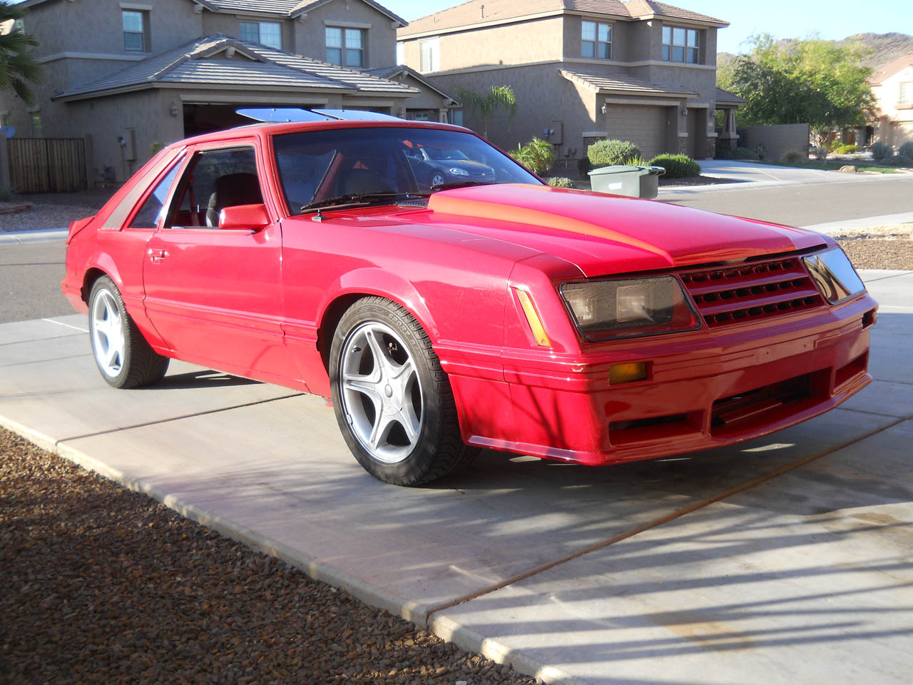 1982 Red Ford Mustang GT picture, mods, upgrades