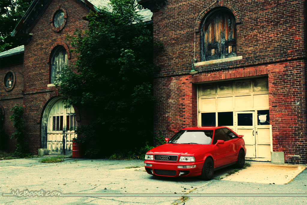 tornado red 1990 Audi Coupe 7A 20VT