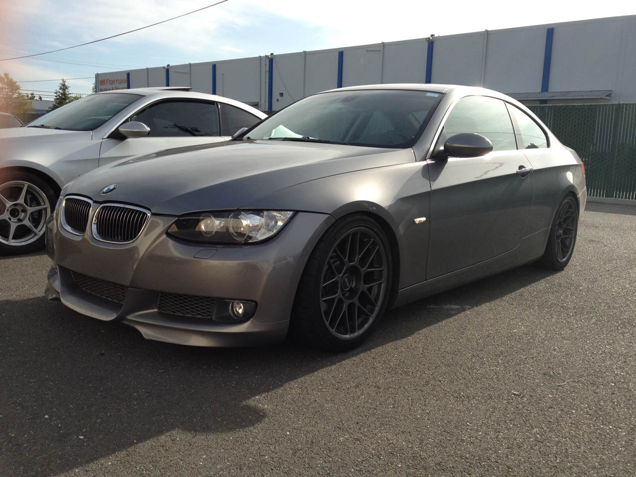 Space Grey 2007 BMW 335i Coupe VISHNU Procede