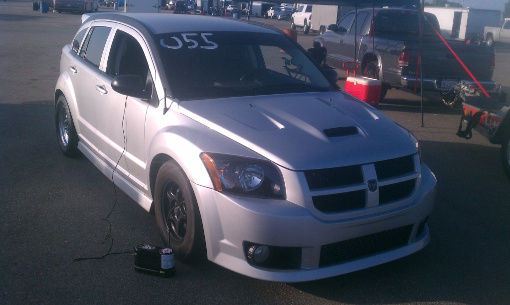 Silver 2008 Dodge Caliber SRT-4