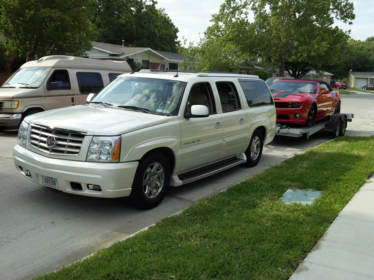 Cadillac cadillac escalade weight : 2003 Cadillac Escalade ESV 1/4 mile Drag Racing timeslip specs 0 ...