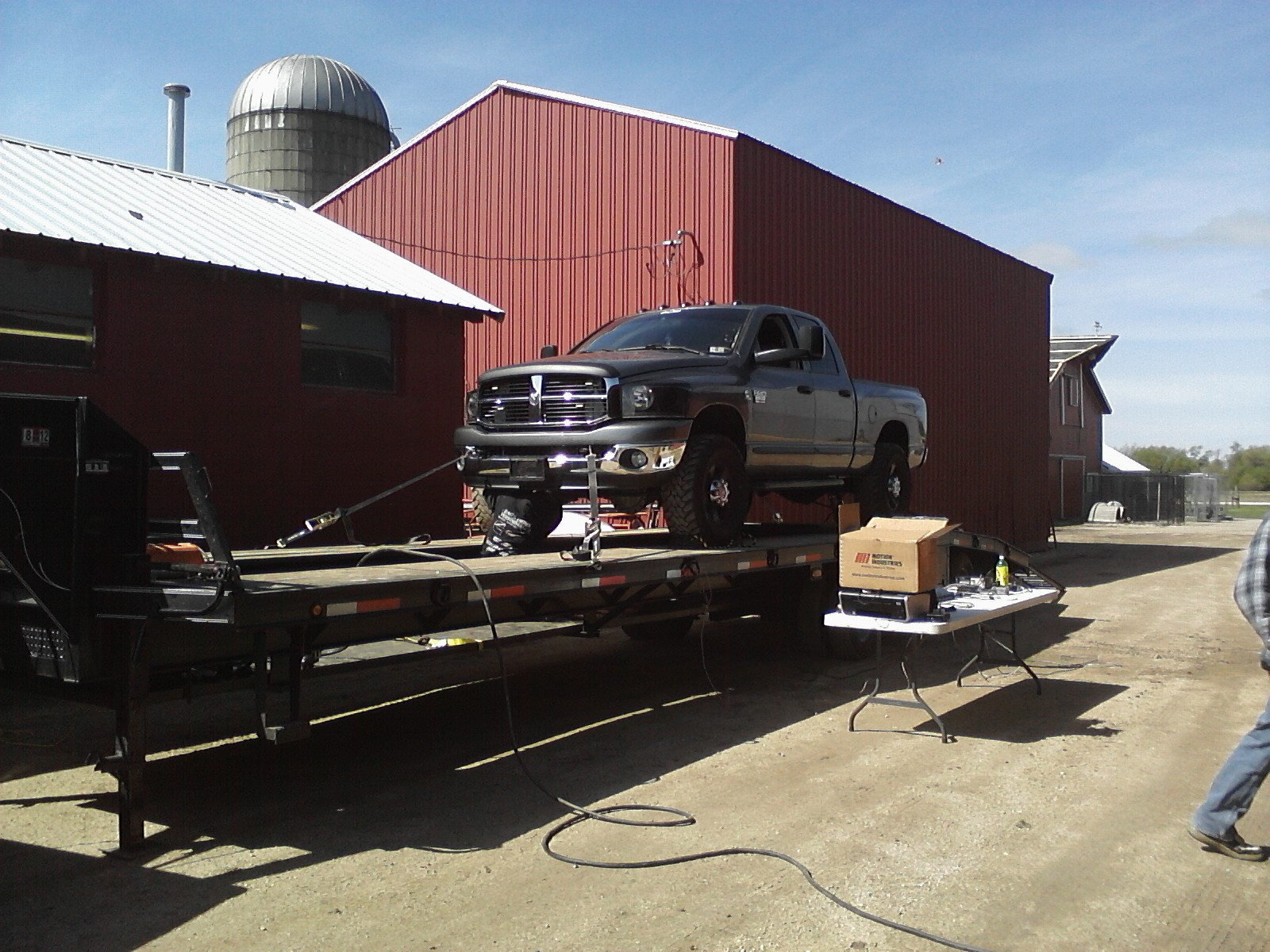 2007 Gray Dodge Ram 2500 QCSB picture, mods, upgrades
