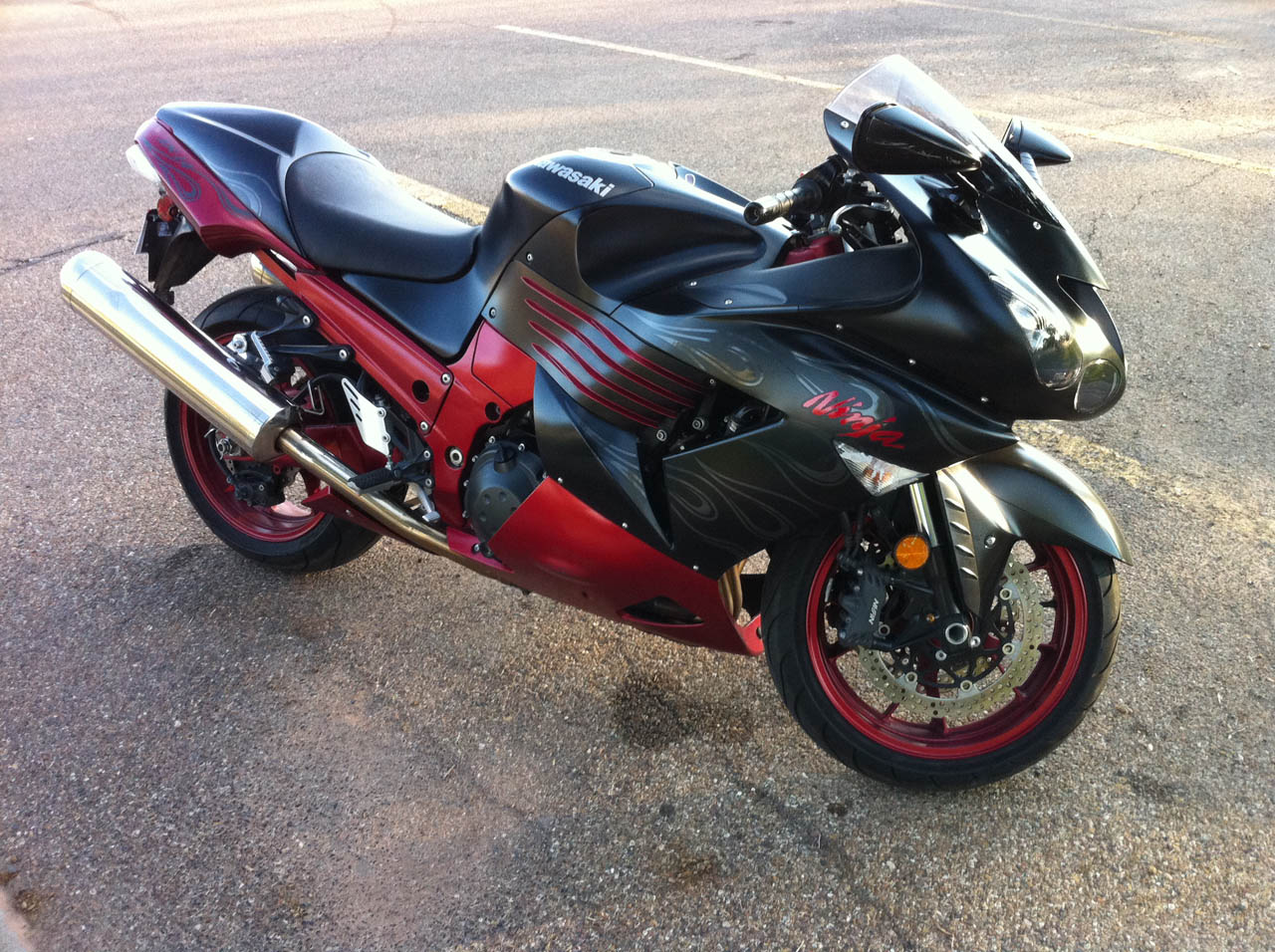 2008  Kawasaki ZX-14  picture, mods, upgrades