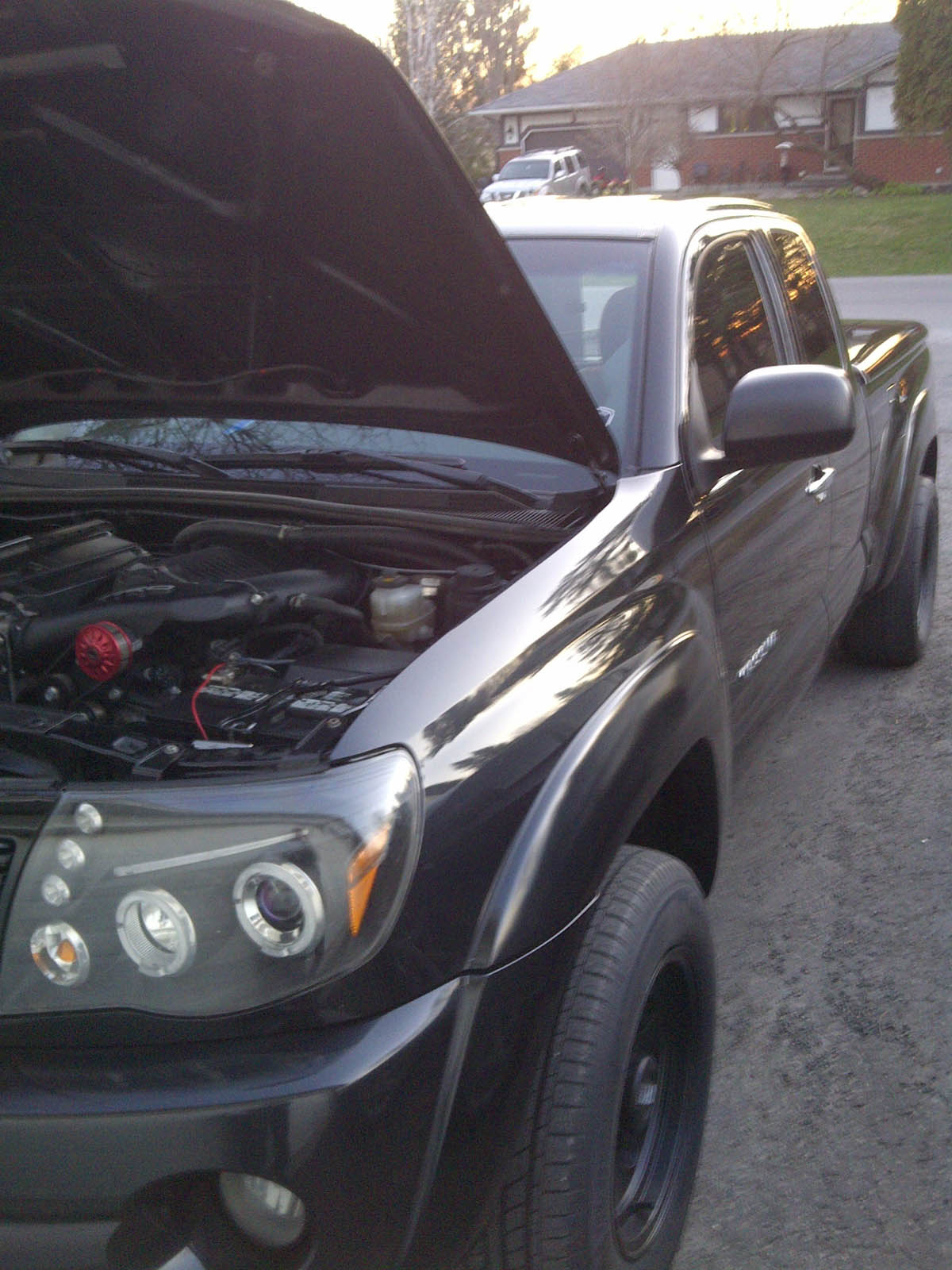 Black 2009 Toyota Tacoma Supercharged SR5 V6