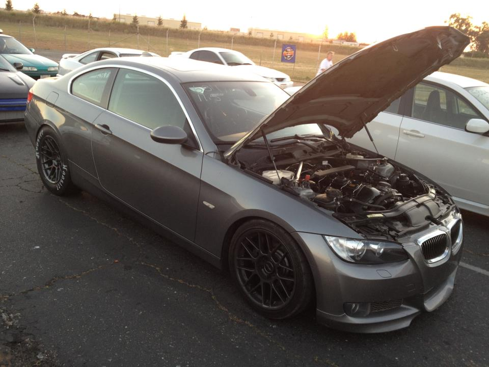 2007 Space Gray BMW 335i Vishnu/FFTEC Single Turbo (Procede) picture, mods, upgrades