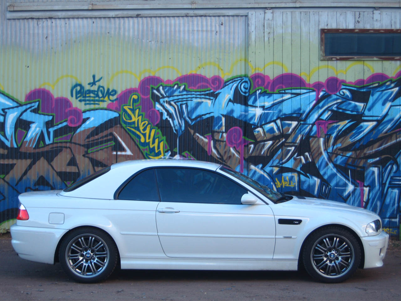 2004 Alpine White BMW M3 Convertible picture, mods, upgrades
