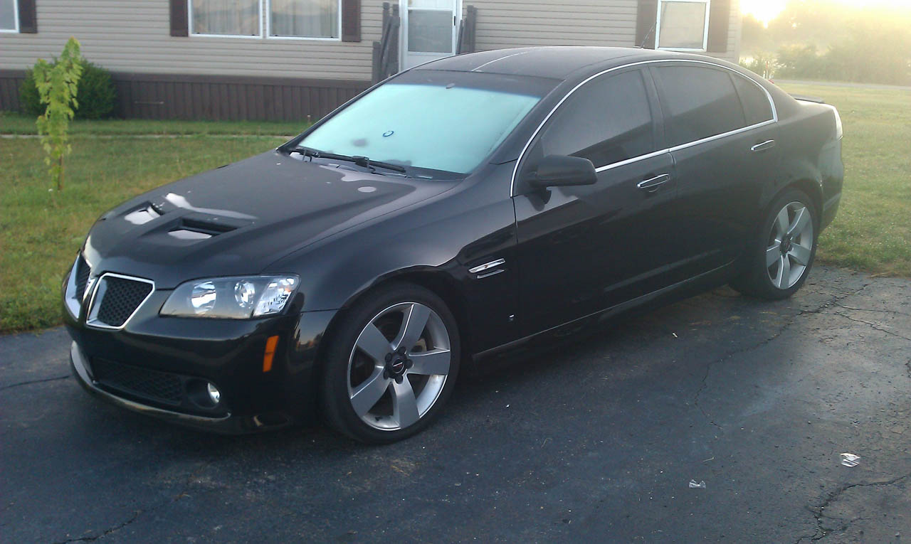 2009 Black Pontiac G8 Gt Pictures Mods Upgrades