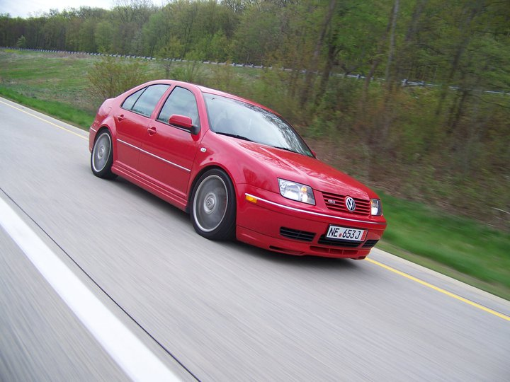 2004 Tornado Red Volkswagen Jetta GLI picture, mods, upgrades