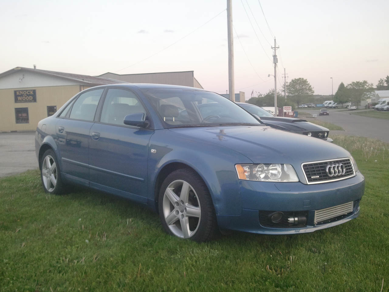 Denim Blue 2003 Audi A4 1.8t Quattro 5spd STOCK K03