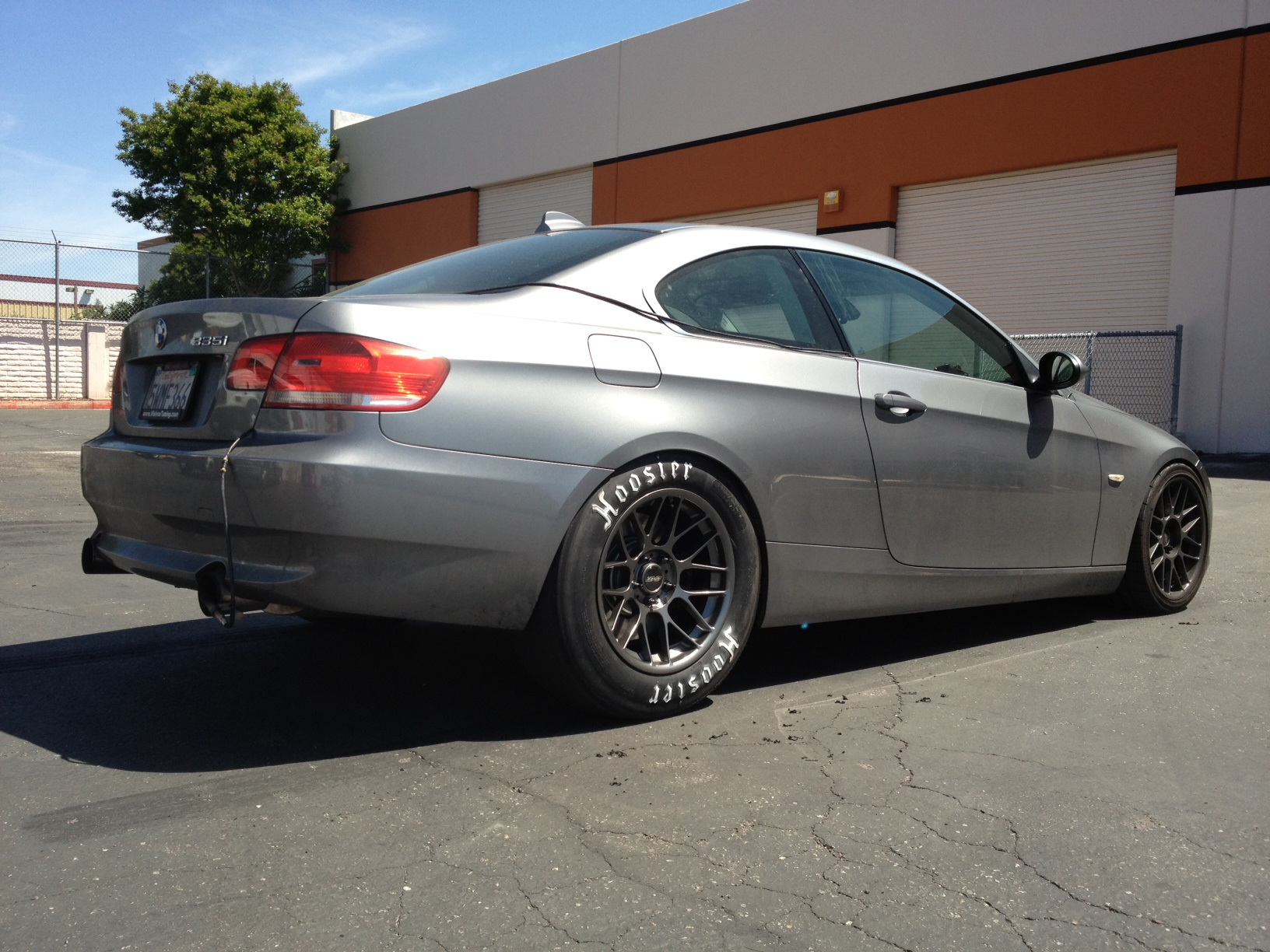 2007 BMW 335i VishnuFFTEC Single Turbo Procede 14 mile Drag